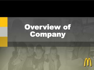 Overview of Company