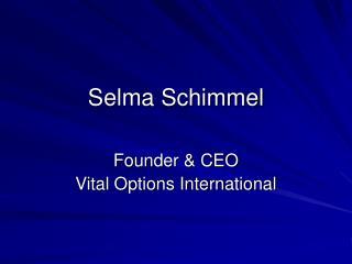 Selma Schimmel