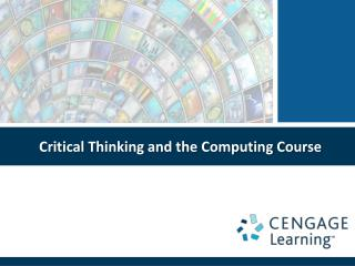 Critical Thinking and the Computing Course