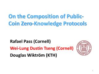 On the Composition of Public-Coin Zero-Knowledge Protocols
