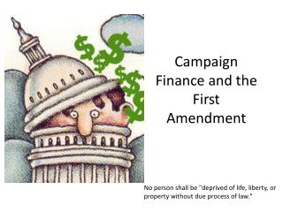 Campaign Finance and the First Amendment