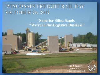 WISCONSIN FREIGHT RAIL DAY OCTOBER 26, 2012