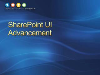 SharePoint UI Advancement