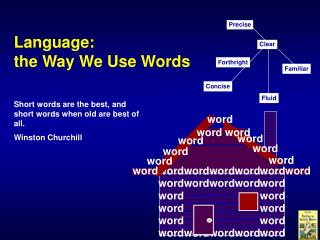 Language: the Way We Use Words
