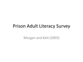 Teaching Numeracy  Quantitative Literacy to Adults