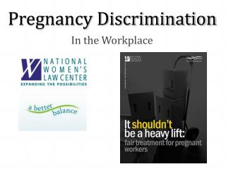 Pregnancy Discrimination