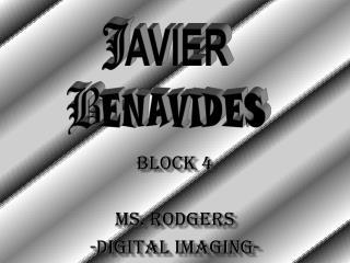 BLOCK 4 MS. RODGERS -DIGITAL IMAGING-