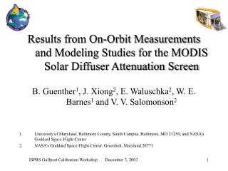 Results from On-Orbit Measurements and Modeling Studies for the MODIS Solar Diffuser Attenuation Screen