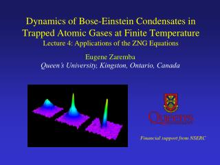 Dynamics of Bose-Einstein Condensates in Trapped Atomic Gases at Finite Temperature