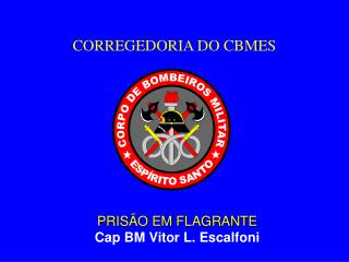 CORREGEDORIA DO CBMES