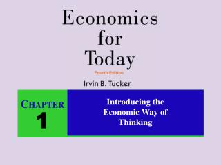 Introducing the  Economic Way of  Thinking