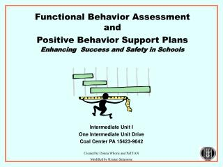 Functional Behavior Assessment and  Positive Behavior Support Plans Enhancing  Success and Safety in Schools