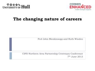 The changing nature of careers