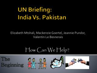 UN Briefing:  India Vs. Pakistan