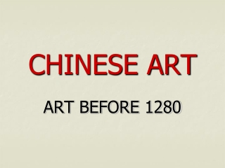 Chinese Art after 1280
