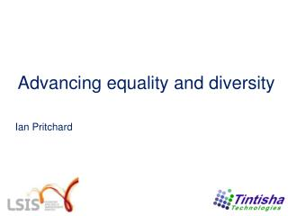Advancing equality and diversity