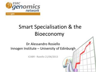 Smart Specialisation & the Bioeconomy