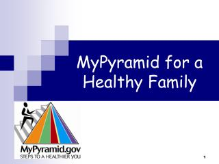 MyPyramid for a Healthy Family