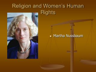 Religion and Women's Human Rights