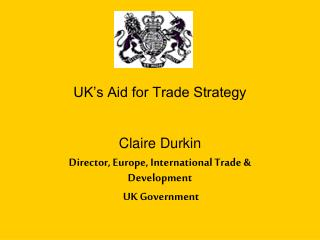 UK's Aid for Trade Strategy