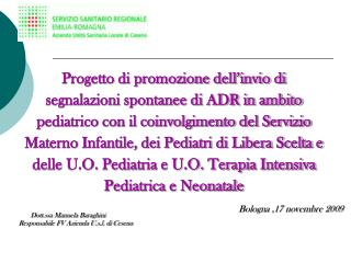 Background del progetto