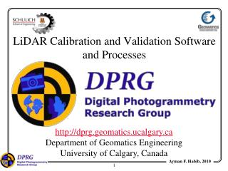 LiDAR Calibration and Validation Software and Processes
