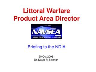 Littoral Warfare Product Area Director