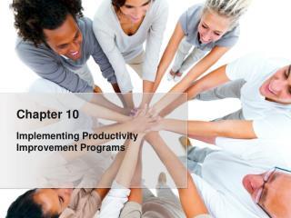 Implementing Productivity Improvement Programs