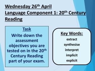 Writing Tip: Use figurative colloquialisms