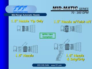 Mid-Range Automatic Nozzle