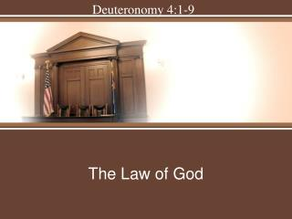 The Law of God