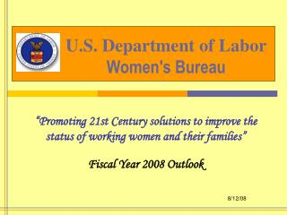 U.S. Department of Labor Women's Bureau