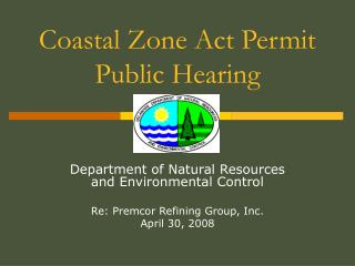 Coastal Zone Act Permit Public Hearing