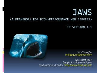 JAWS (A Framework for High-Performance Web Servers) TP Version  1.1