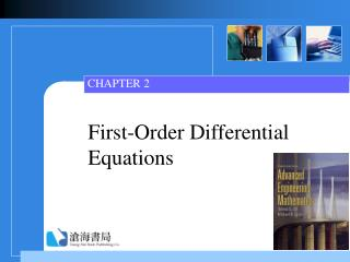 First-Order Differential Equations