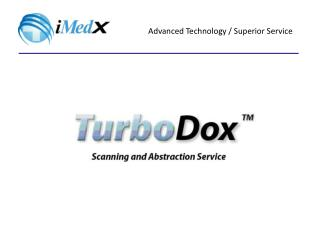 What is TurboDox? What is Data Scanning and Abstraction? What Are The Challenges? The Solution: TurboDox™