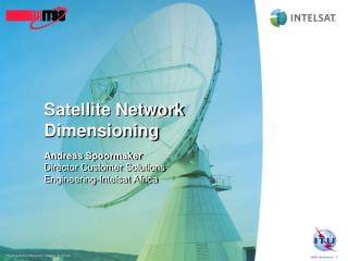 Satellite Network Dimensioning