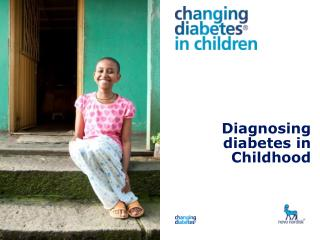 Diagnosing diabetes in Childhood