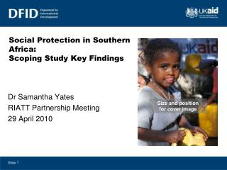 Social Protection in Southern Africa: Scoping Study Key Findings