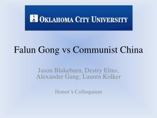 Falun Gong vs Communist China