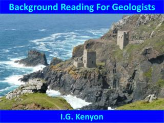 Background Reading For Geologists
