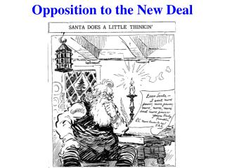 Opposition to the New Deal