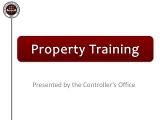 Property Training