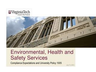 Environmental, Health and Safety Services