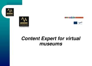 Content Expert for virtual museums