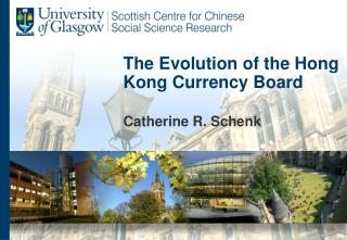 The Evolution of the Hong Kong Currency Board
