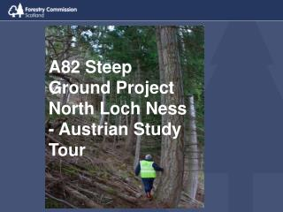 A82 Steep Ground Project North Loch Ness - Austrian Study Tour
