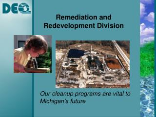 Remediation and Redevelopment Division