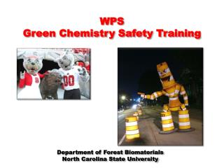 WPS  Green Chemistry Safety Training