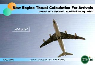 New Engine Thrust Calculation For Arrivals